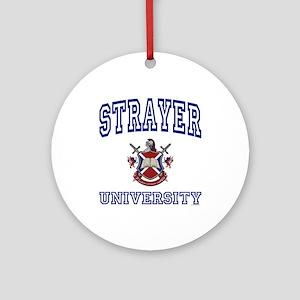 STRAYER University Ornament (Round)