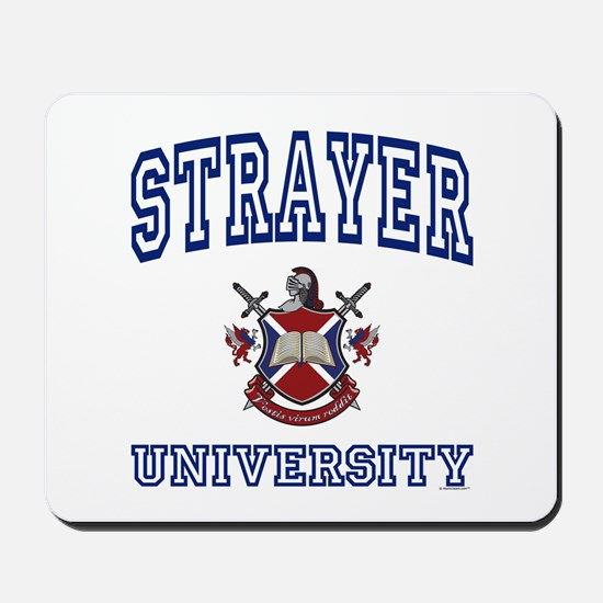 STRAYER University Mousepad