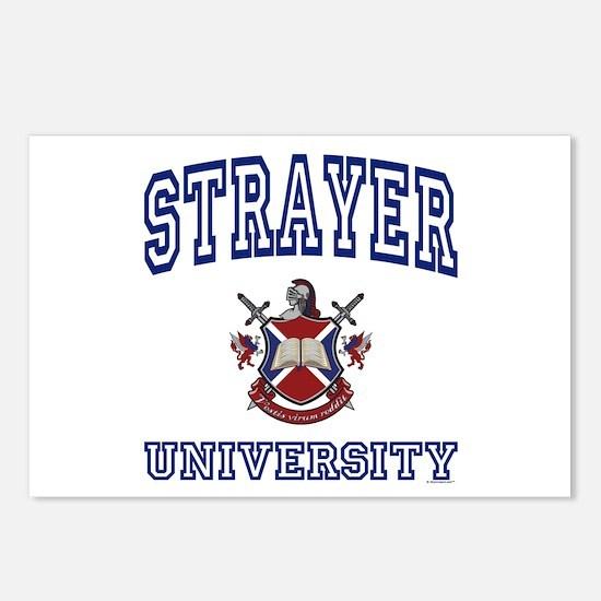 STRAYER University Postcards (Package of 8)