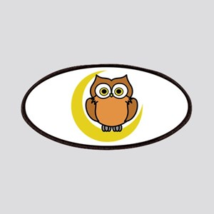 OWL ON MOON APPLIQUE Patches