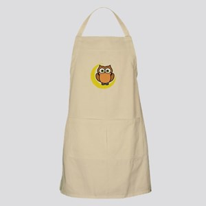 OWL ON MOON APPLIQUE Apron