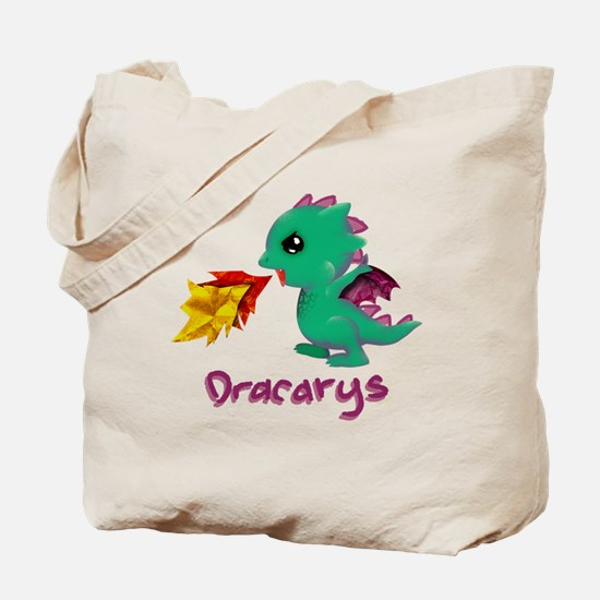 Unique Dragon kids Tote Bag