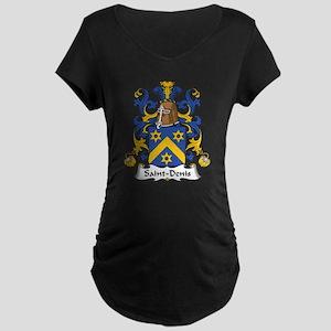 Saint-Denis Maternity Dark T-Shirt