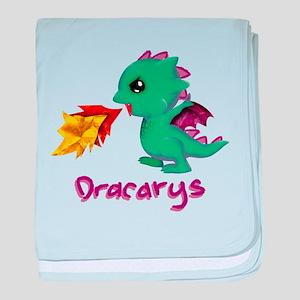 Cute Dragon Dracarys baby blanket