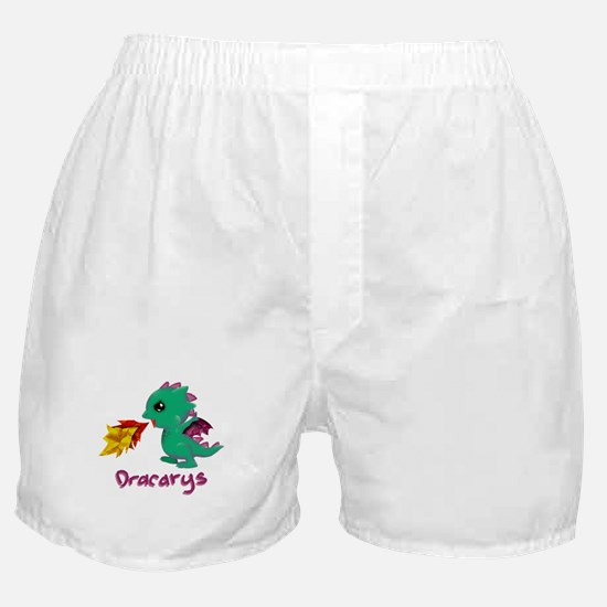 Cute Dragon Dracarys Boxer Shorts