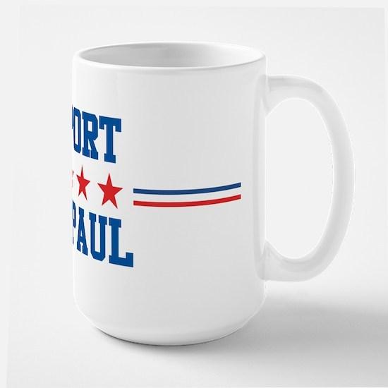 Support RON PAUL Large Mug