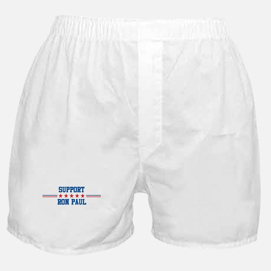 Support RON PAUL Boxer Shorts