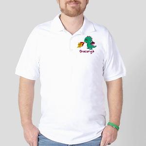 Cute Dragon Dracarys Golf Shirt