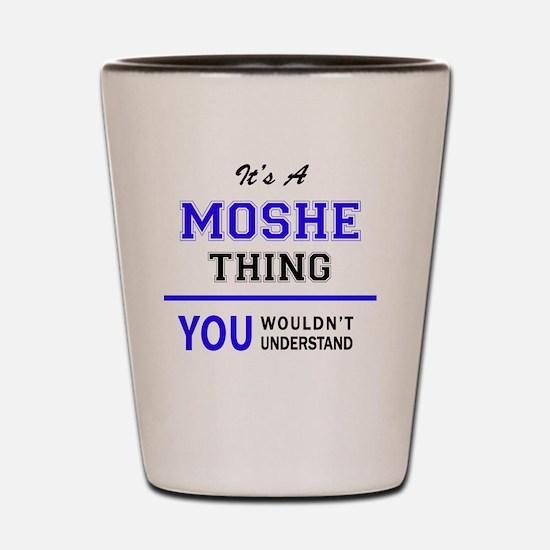 Moshe Shot Glass
