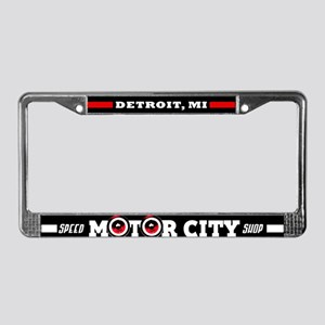 M.C.S.S. License Plate Frame