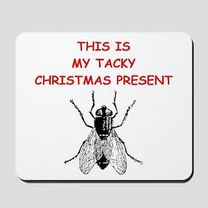 tacy christmas present Mousepad