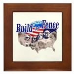 Build The Fence Framed Tile
