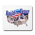 Build The Fence Mousepad