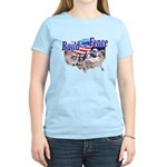 Build The Fence Women's Light T-Shirt