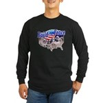 Build The Fence Long Sleeve Dark T-Shirt