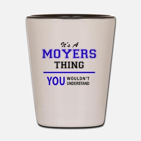 Unique Moyers Shot Glass