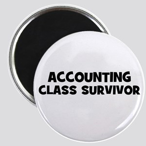 "accounting Class Survivor 2.25"" Magnet (10 pack)"