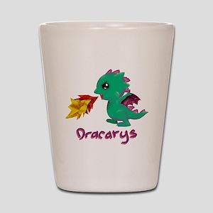Cute Dragon Dracarys Shot Glass