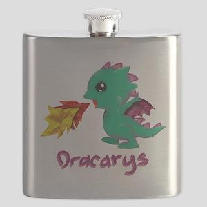 Cute Dragon Dracarys Flask
