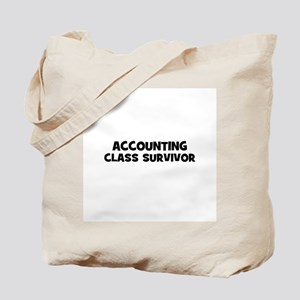 accounting Class Survivor Tote Bag