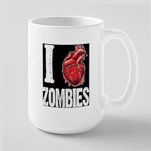 I Real Heart Zombies Mugs
