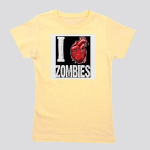 I Real Heart Zombies Girl's Tee