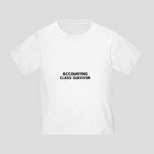 accounting Class Survivor Toddler T-Shirt