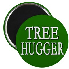 Tree Hugger Magnet (100 pack)