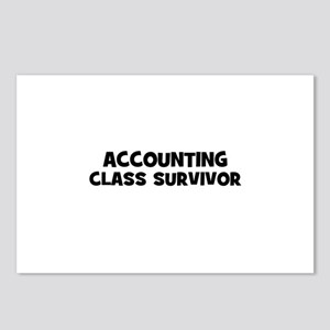 accounting Class Survivor Postcards (Package of 8)
