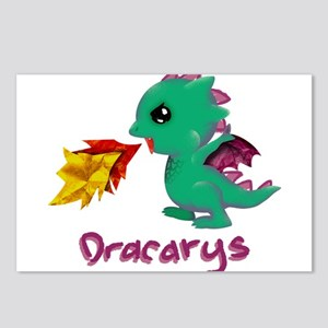 Cute Dragon Dracarys Postcards (Package of 8)