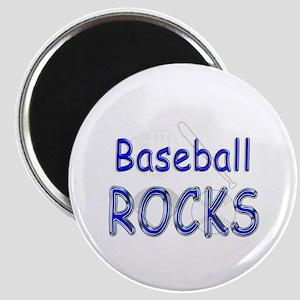 Baseball Rocks Magnet