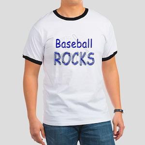 Baseball Rocks Ringer T