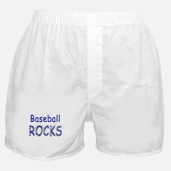 Baseball Rocks Boxer Shorts
