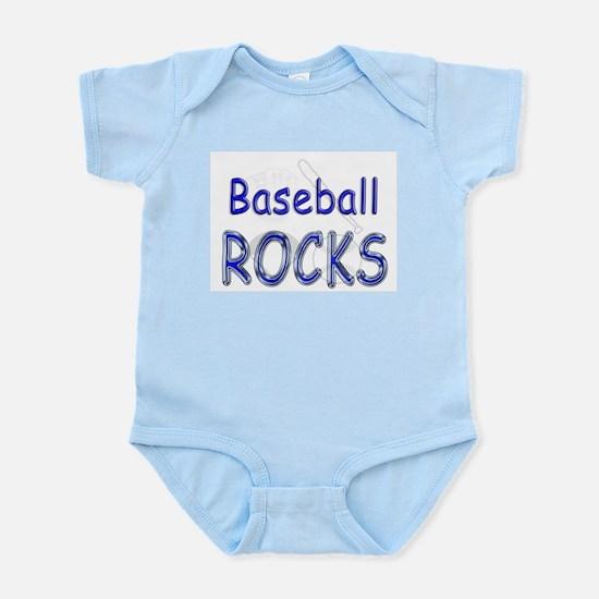 Baseball Rocks Infant Bodysuit