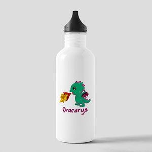 Cute Dragon Dracarys Stainless Water Bottle 1.0L