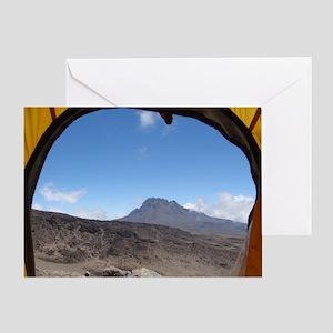 Mt. Kilimanjaro Season's Greetings Card