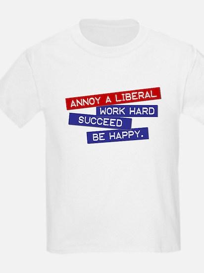 """""""Annoy a Liberal"""" Kids T-Shirt"""