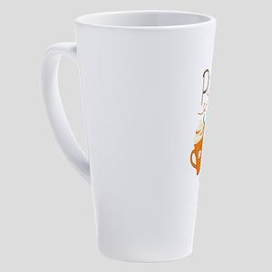 Pumpkin Spice Makes Everything Nic 17 oz Latte Mug