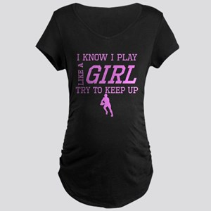 Rugby Like A Girl Maternity T-Shirt