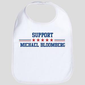 Support MICHAEL BLOOMBERG Bib