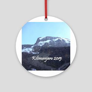 Kilimanjaro 2015 Ornament (round)