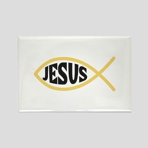 JESUS FISH Magnets