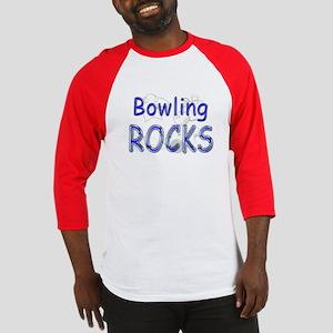 Bowling Rocks Baseball Jersey