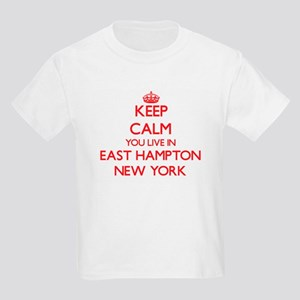 Keep calm you live in East Hampton New Yor T-Shirt
