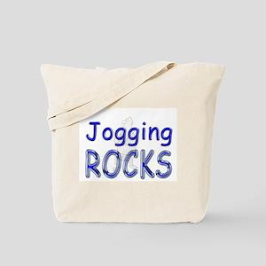 Jogging Rocks Tote Bag