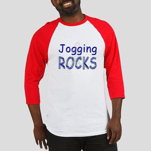 Jogging Rocks Baseball Jersey