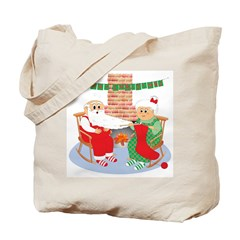 A Froggy Christmas! Tote Bag - SPECIALLY PRICED!