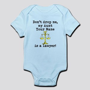 Dont Drop Me My Aunt Is A Lawyer Body Suit