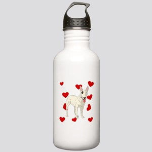 Bull Terrier Love Water Bottle