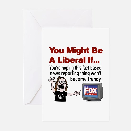 Angry with Fox News Greeting Cards (Pk of 10)